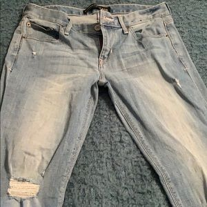 Express jeans white wash